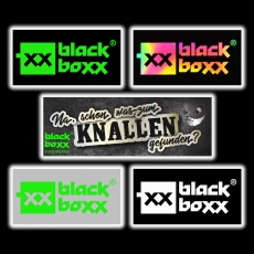 Aufkleber 5er Set Blackboxx Logo