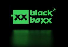 Aufkleber Blackboxx Logo - fluoreszierend