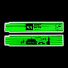 Blackboxx Zollstock, Neon Grün