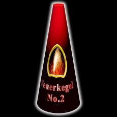 Feuerkegel No.2, Rot