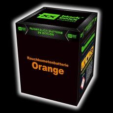 Rauchkometen Batterie, Orange
