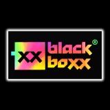 Aufkleber Blackboxx Logo - Rainbow Hologramm