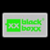 Aufkleber Blackboxx Logo - transparenten Hintergrund