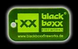 Schlüsselanhänger Blackboxx Logo, Neon-Grün
